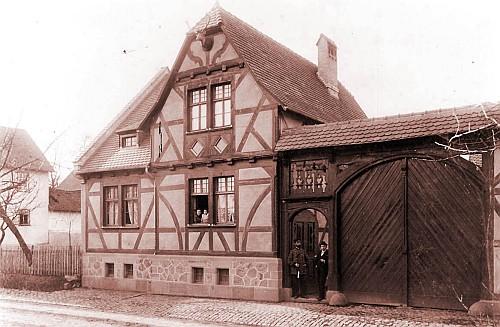 Fortshaus Harbach um 1900