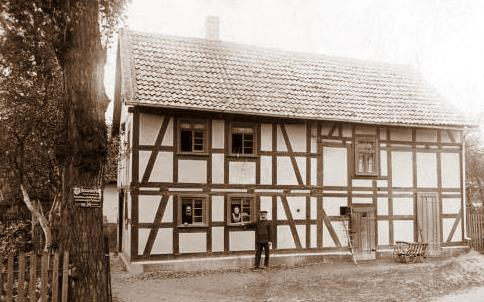 altes Haus in Wabern